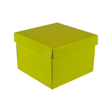 Medium Gift Box 19278 Base & Lid - Premium Gloss Yellow