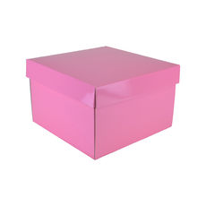 Small Gift Box 19279 - Premium Gloss Baby Pink