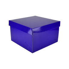 Small Hamper Gift Box 19280 - Premium Gloss Purple