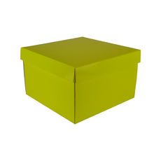 Small Hamper Gift Box 19280 Base & Lid - Premium Gloss Yellow
