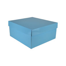 Large Hamper Gift Box 19281 Base & Lid - Premium Gloss Baby Blue