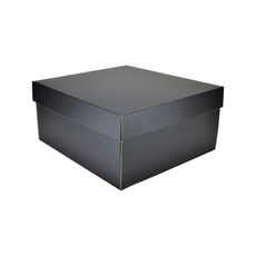 Large Hamper Gift Box 19281 - Premium Matt Black