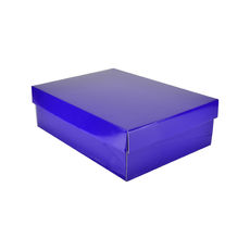 Small Shirt Gift Box 19283 - Premium Gloss Purple
