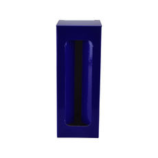 Red Wine Single Glass Gift Box 19290 - Premium Matt Navy Blue