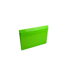 One Piece Small Mailer with Peal & Seal Tape - Gloss Lime