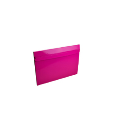 One Piece Medium Mailer with Peal & Seal Tape - Gloss Hot Pink