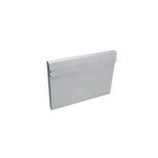 One Piece Medium Mailer with Peal & Seal Tape - Matt White