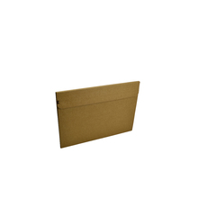 One Piece A4 Mailer 5mm High with Peal & Seal Tape - Kraft Brown