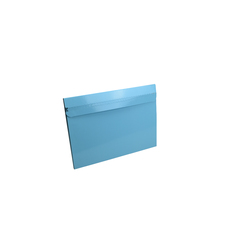 One Piece A4 Mailer 10mm High with Peal & Seal Tape - Gloss Baby Blue