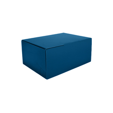 A5 Postal Box 125mm High - Premium Matt Navy Blue (White Inside) Temp out of Stock