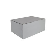 A5 Postal Box 150mm High - Premium Matt White (White Inside)