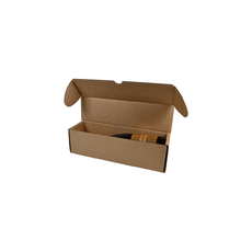 320 One Piece Champagne Gift Box 24646 Kraft Brown