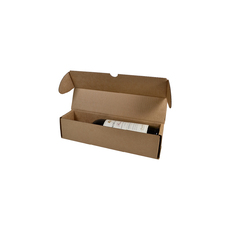 310mm One Piece Wine Gift Box 24647 Kraft Brown