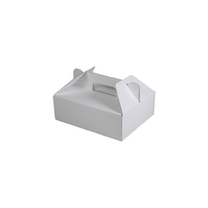 Small Food Delivery Box 24684 Kraft White