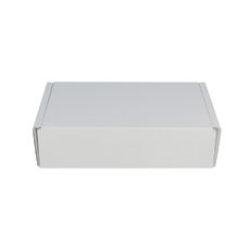 One Piece Postage Box 247 - Kraft White (White Inside)