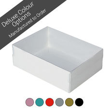 Rectangle 24 with Clear Lid - Assorted Colours (Minimum Order 100 units)