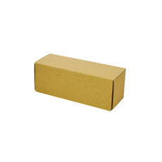 One Piece Postage Box 4666 - Kraft Brown