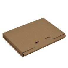 DVD Postage Box Brown (Brown Inside)