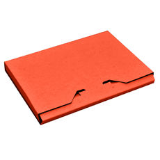 DVD Box - Premium Gloss Orange (White Inside)