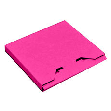 CD Box - Premium Matt Hot Pink (White Inside)
