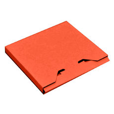 CD Box - Premium Matt Orange (White Inside)