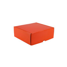 One Piece Postage & Gift Box 5317 - Premium Gloss Orange