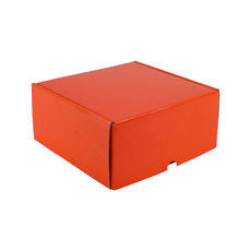 One Piece Postage & Gift Box 5318 - Premium Gloss Orange