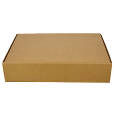 One Piece Postage Box 6417 - Kraft Brown (Brown Inside)