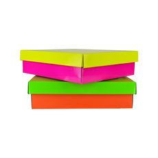 Two Piece Corrugated Shoe Box 100 - Premium Mix'n'Match Base & Lid