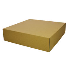Two Piece Postage & Gift Box 6592 Base & Lid - Kraft Brown (Brown Inside)