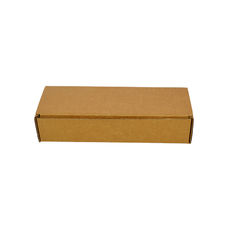 One Piece Postage Box 6597 - Kraft Brown (Brown Inside)