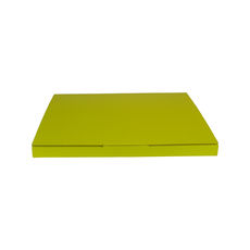 Book Box Twist Mailer 8 - Premium Gloss Yellow (White Inside)