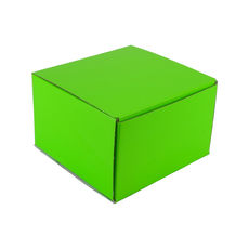 One Piece Postage & Gift Box 6798 - Premium Gloss Lime Green