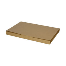 Book Box Twist Mailer 6 - Kraft Brown (Brown Inside)