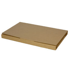 Book Box Twist Mailer 1 - Kraft Brown (Brown Inside)