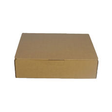 One Piece Postage & Gift Box 6895 -Kraft Brown (Brown Inside)