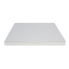 Book Box Twist Mailer 2 - Kraft White (White Inside)