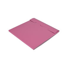 One Piece Postage Box LP Mailer 195mm - Premium Gloss Baby Pink