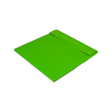 One Piece Postage Box LP Mailer 195mm - Premium Gloss Lime Green (White Inside)
