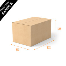 TEMP OUT OF STOCK SAMPLE - Cardboard Box/RSC - A4S - PALLET BUY (Please allow 5 work days for dispatch)