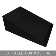A4 Counter Display - Kraft Black (Double Sided Black)