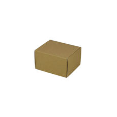 One Piece Postage & Gift Box 7429-Kraft Brown (Brown Inside)
