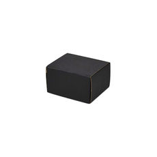 One Piece Postage & Gift Box 7429 -Kraft Black (Double Sided Black)