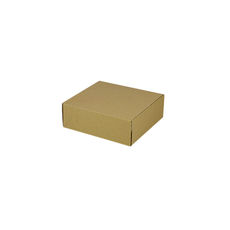 One Piece Postage & Gift Box 7431 -Kraft Brown (Brown Inside)