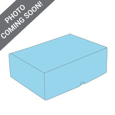 One Piece Postage & Gift Box 7431 - Premium Gloss Baby Blue (White Inside)