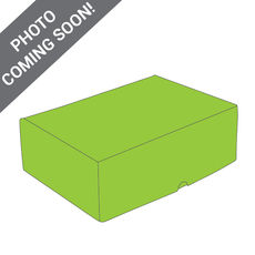 One Piece Postage & Gift Box 7431 - Premium Gloss Lime Green (White Inside)