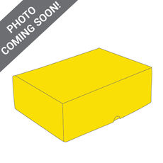 One Piece Postage & Gift Box 7431 - Premium Gloss Yellow (White Inside)