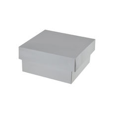 Two Piece Postage & Gift Box 7580 Base & Lid - Premium Matt White (White Inside)