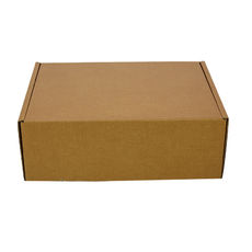 One Piece Postage Box 8349 with Divider Insert - Kraft Brown (Brown Inside)