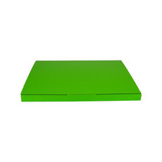 Book Box Twist Mailer 5 - Premium Gloss Lime Green (White Inside)